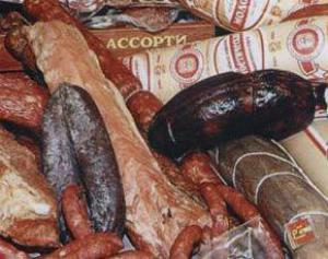 Мясо в колбасе вызывает рак желудка