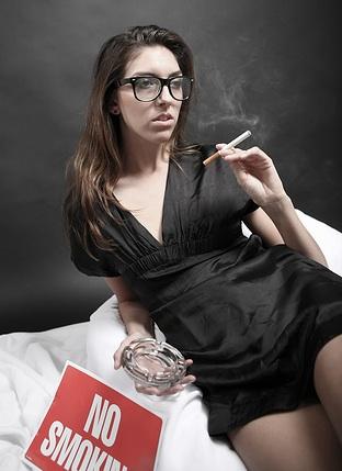 Дамские сигареты быстрее приводят к раку