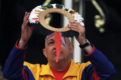Шаманы помогут Чавесу в борьбе с раком