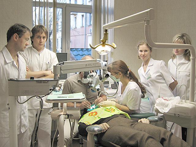 Только в условиях стационара могут быть решены некоторые стоматологические проблемы пациента