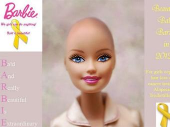 Американские активистки призвали к созданию лысой Барби