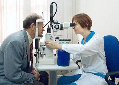 Глаукома и катаракта глаза