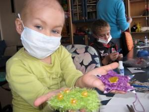Подарки для онкобольных детей