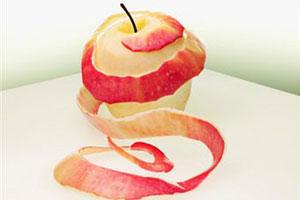Яблочная кожура избавит от прыщей