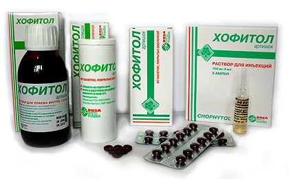 Хофитол – препарат нового поколения