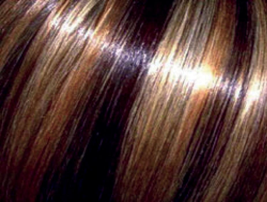 Краска для мелирования черных волос