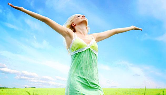 Кислород так необходимый для жизни дает человеку силы и энергию