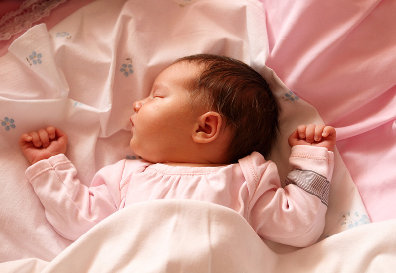 Ребенок первого месяца жизни