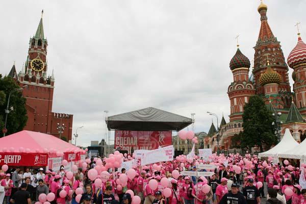Москва поддержит месяц борьбы против рака груди розовым освещением