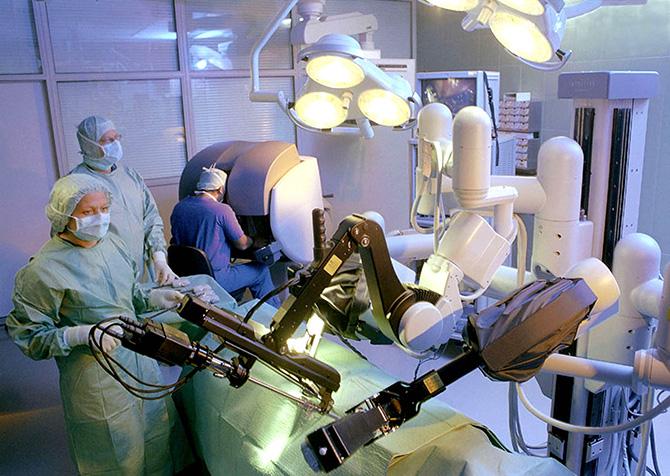 Хирурги смогли удалить опухоль, не сделав ни одного разреза