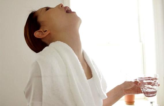 Как лечить горло у беременных в домашних условиях