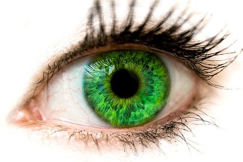 О чем говорят зеленые глаза?
