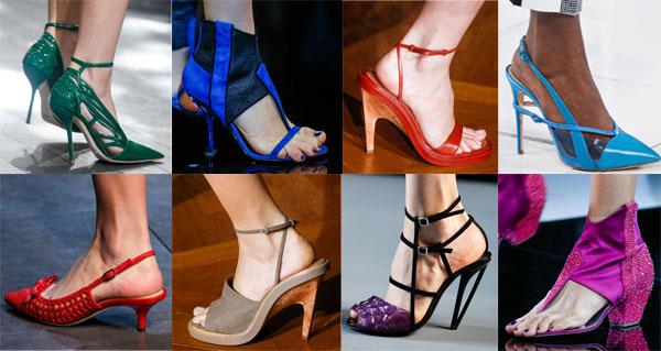Модные тенденции в женской обуви на лето 2014