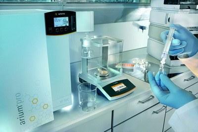 Очистка воды для лабораторных исследований
