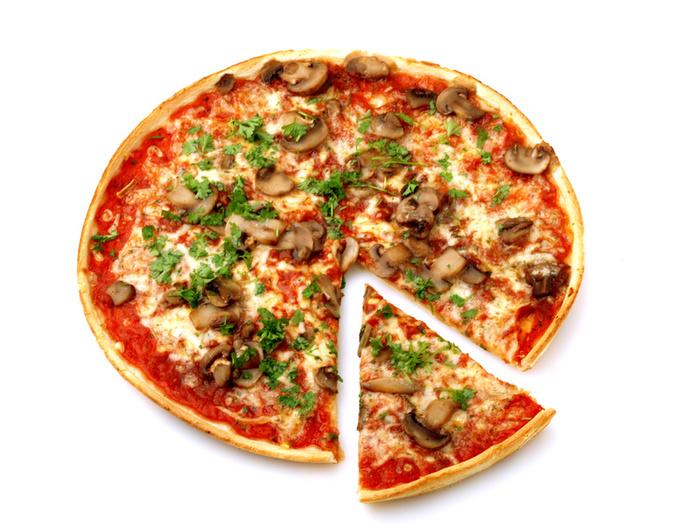 Употребление пиццы помогает защититься от рака
