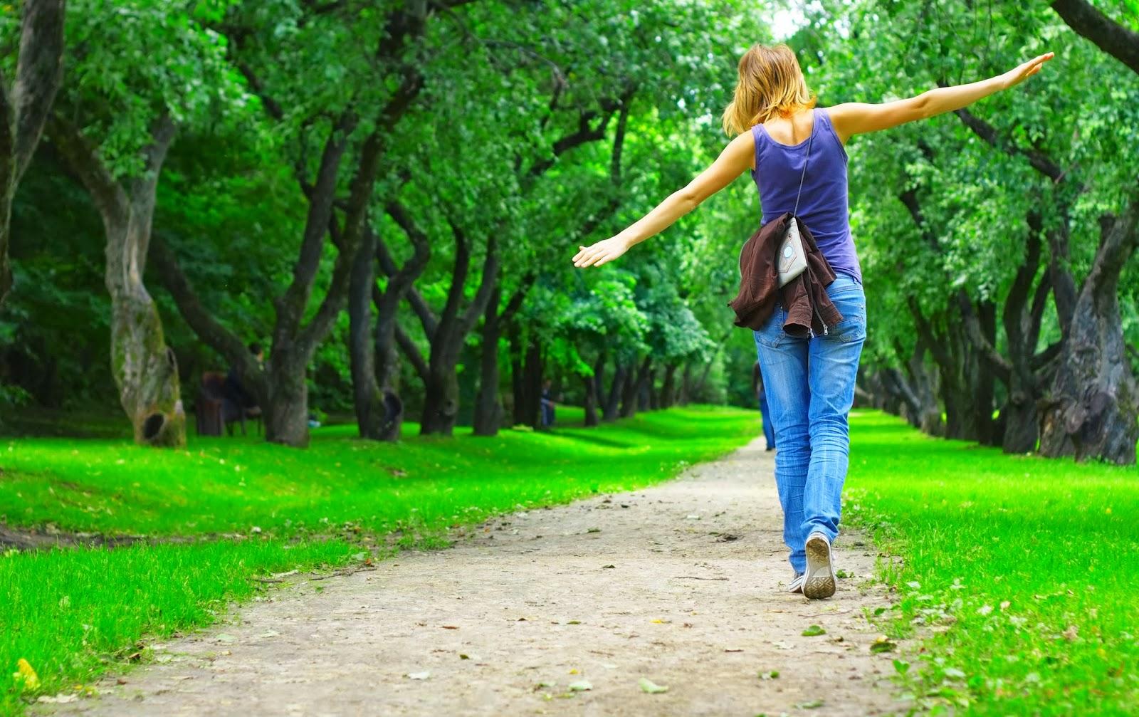 Пешие прогулки помогают бороться с раком груди