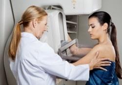 Регулярная маммография рекомендована с 50 лет