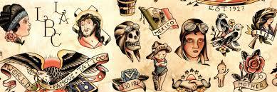 Татуировки в стиле олдскул