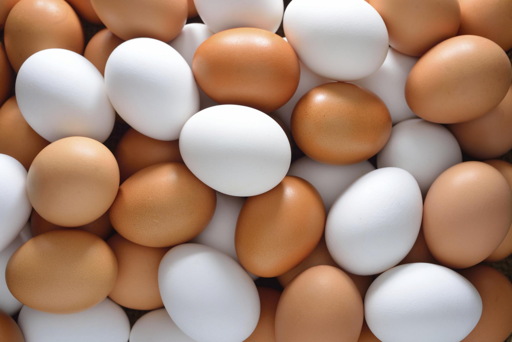Яйца полезны против опухолевых уплотнений