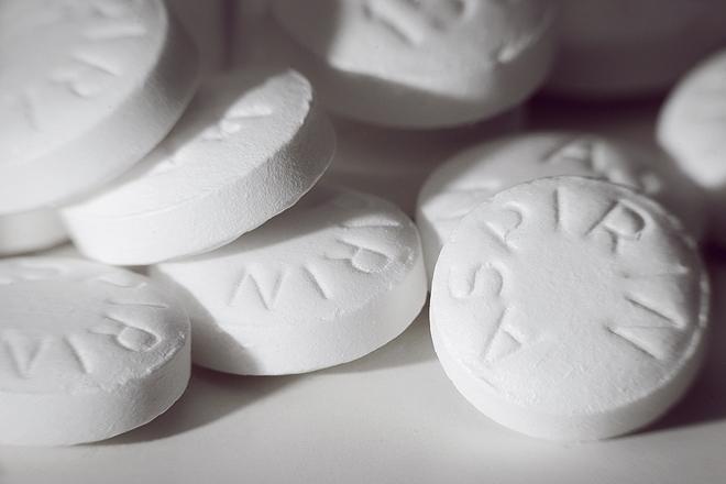Ежедневный приём аспирина снижает риск возникновения рака
