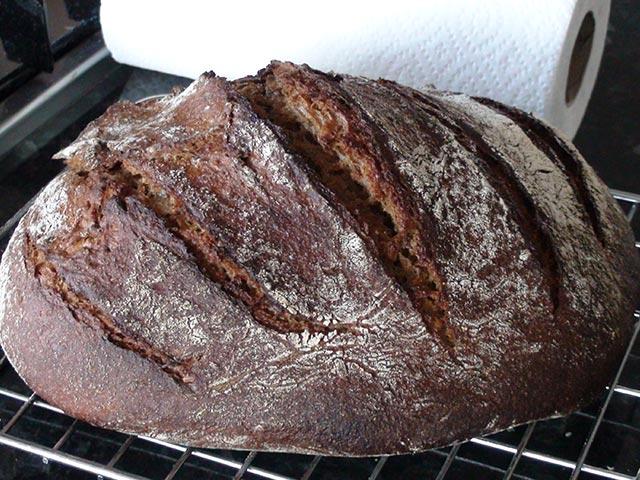Как испечь ржаной хлеб на закваске