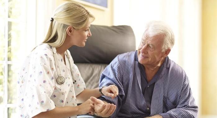 Профессиональная поддержка и уход за больными