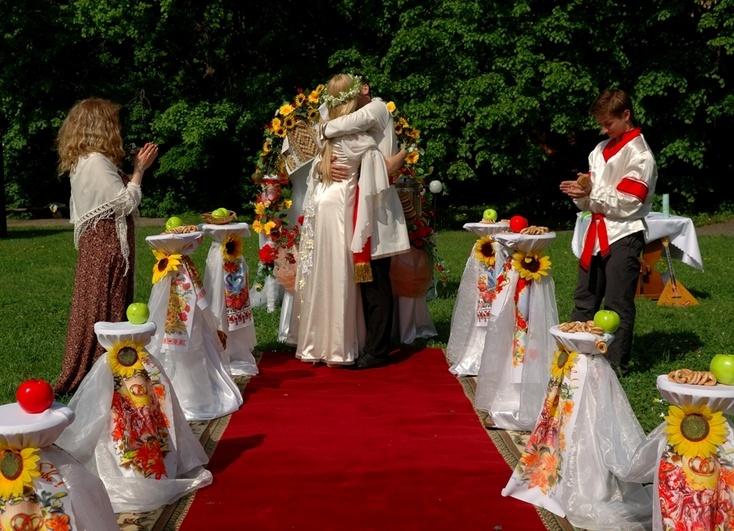 Свадьба в этническом стиле