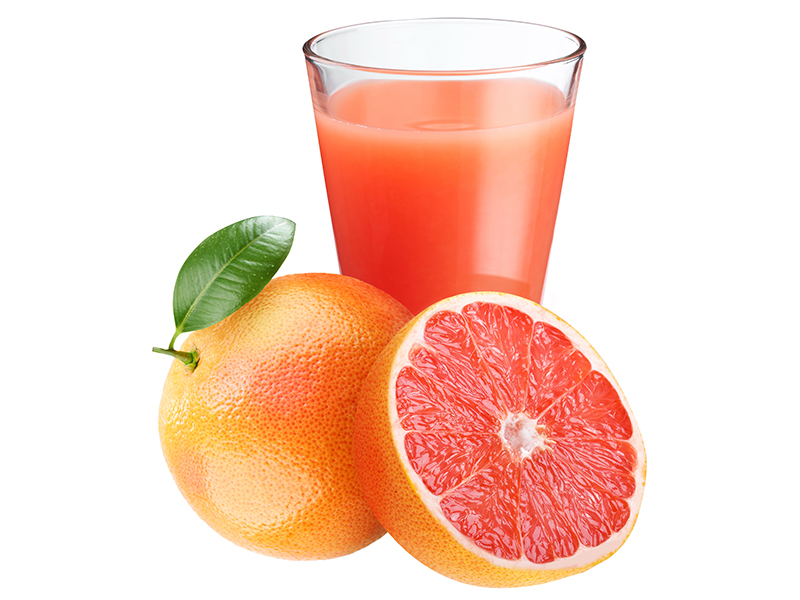 Действие лекарства против рака усиливает грейпфрутовый сок