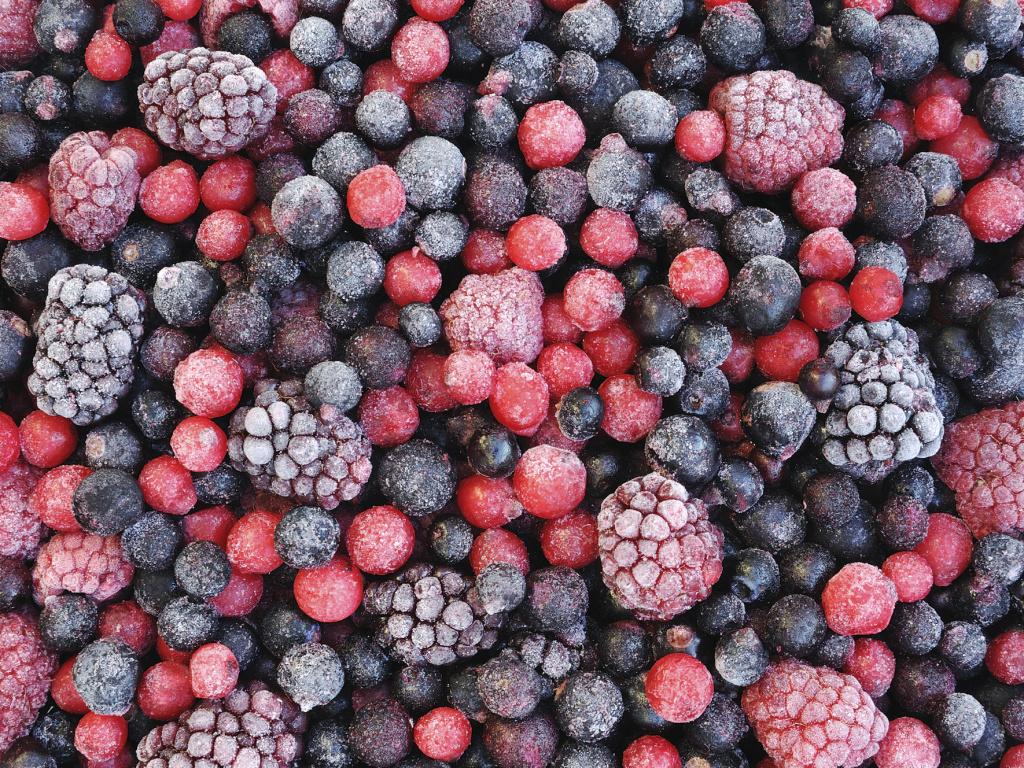 Замороженные ягоды в борьбе с раком