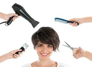 Работа парикмахером