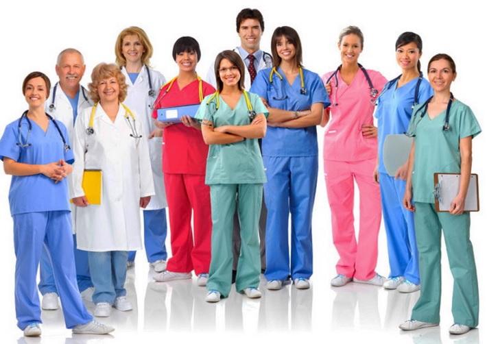 Разнообразие среди одежды для медицинских работников