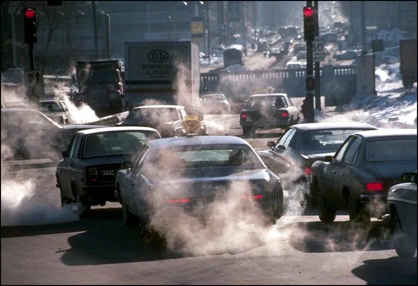 Загрязнение воздуха является причиной рака легких у некурящих