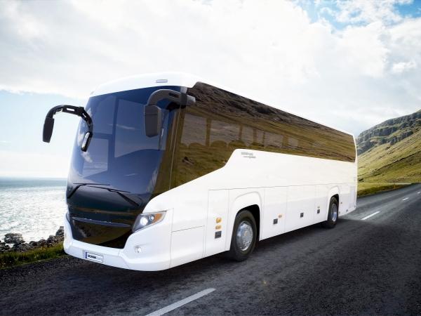 Где можно арендовать современный автобус?