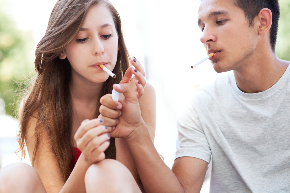 Курение девушек в подростковом возрасте увеличивает в 21 раз риск возникновения рака легких