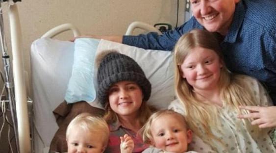 Мать 5 детей с опухолью мозга отказалась от лечения ради родов