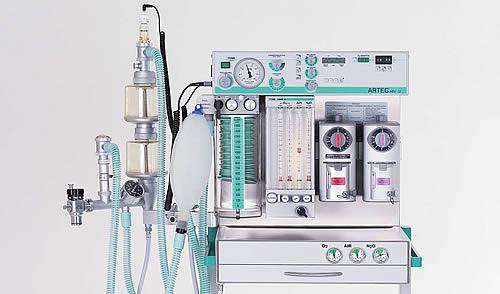 Особенности конструкции наркозно-дыхательного аппарата