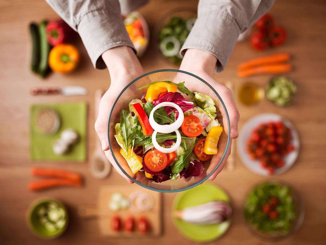 Вегетарианство защитит от рака