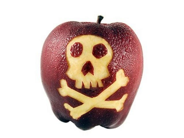 Эксперимент: яблоки попытались отмыть от пестицидов