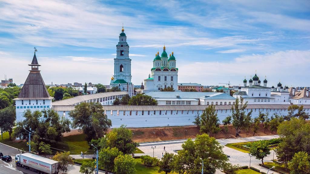 Астрахань — город под покровительством Волги