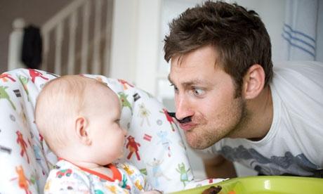 Привлечение отца к уходу за новорождённым