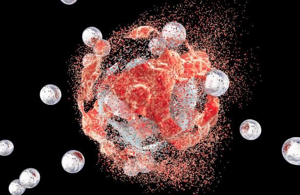 Светящиеся частицы Януса помогут победить рак