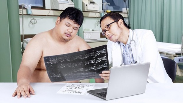 Люди с ожирением подвергаются высокому риску развития рака во время рентгена