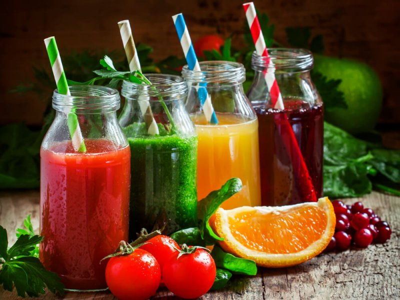 Натуральные соки и газированные напитки опасны для жизни