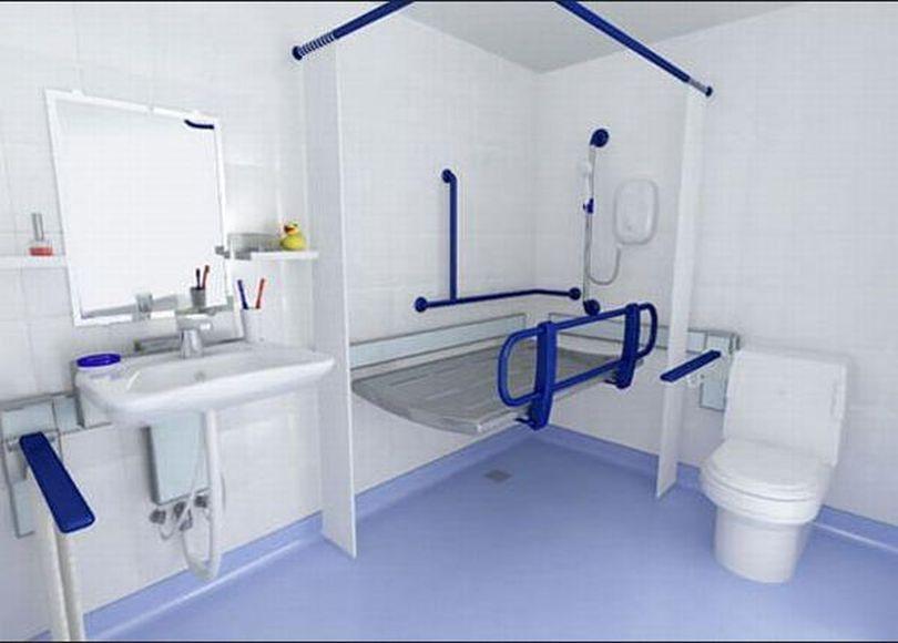 Ванная комната для пожилых или больных людей