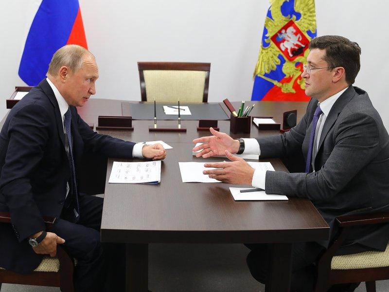 Глава Нижегородской области попросил у Владимира Путина 9 млрд. на межрегиональный онкоцентр