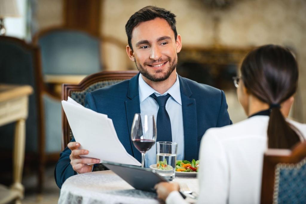 5 параметров выбора ресторана для делового обеда