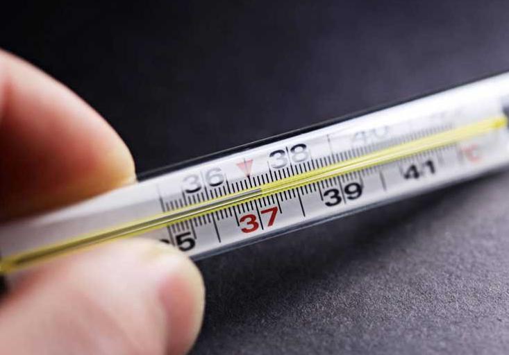 Повышенная температура может указывать на рак крови